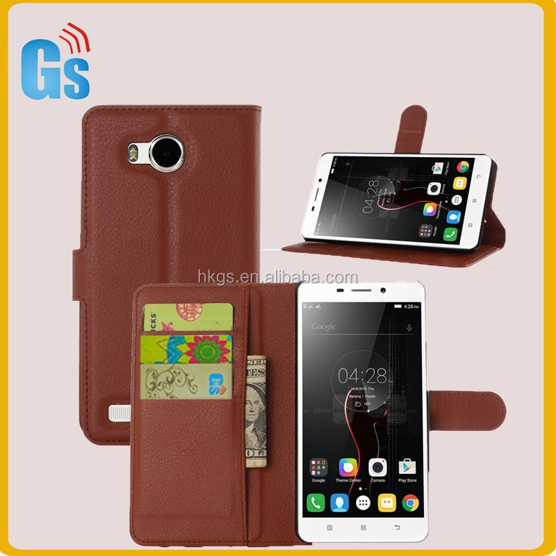 China Factory Latest Flip Leather Wallet With Card Solts Phone Case Cover For Lenovo S8 Play A5860 A5500 A5600