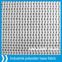 industrial polyester fabric for warp knitted composite geotextile