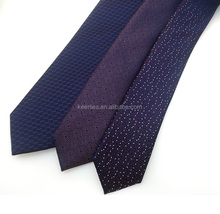 Pure Italian silk tie with paisley pattern