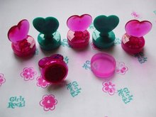 New fashion heart shape self-inking stamp for kids