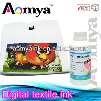 Factory wholesale top quality textile ink for Epson printer printing