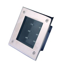 Customized high quality low price outdoor ip68 color changing led solar ice brick light