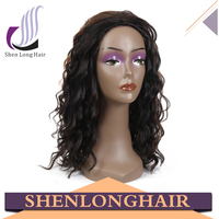 Factory price tangle free mix color Afro curl 8-30 inch synthetic hair wig