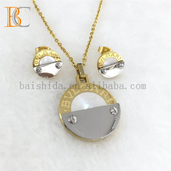 18k High Quality Import China Jewelry Steel Stainless