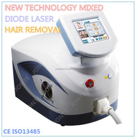 2016 Professional depilation laser 755nm 808nm 1064nm diode body hair removers /diode laser hair removal