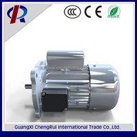 factory price tubular single phase electric asynchronous indusction motor