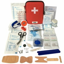 2017 HOT SELLING KF715 Hard Shell Case 126 Pieces EVA First Aid Kit Packed with hospital grade medical supplies for emergency