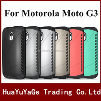 New Arrival phone cases Slim Armor Robot 2 in 1 Combo back cover Shield case for SamsungMotorola Moto G3