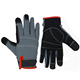 PRI In Stock black warm touch screen gloves work microfiber mechanic gloves
