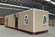 Easy Installed Flatpack Modular Prefabricated 40 ft Container Office