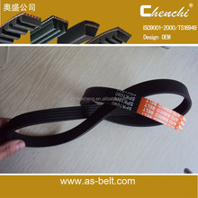 transmission belt 4pk698 rubber belts conveyor belt/quality ribbed belt/v belt 4PK950