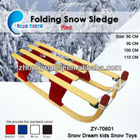 inflatable snow sledge sled