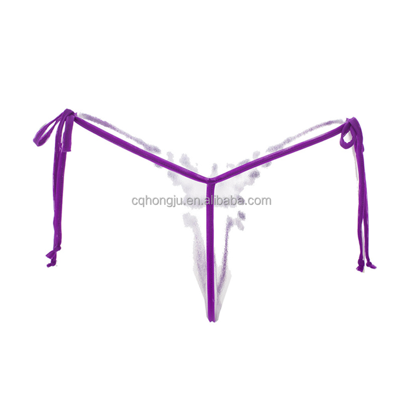 Japan Sex 18 Romantic Purple Strappy Seamless Butterfly Nude Sexy Underwear Women