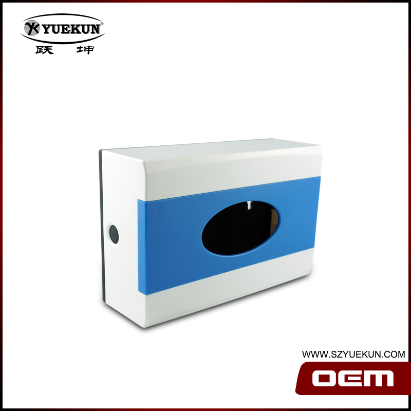 Factory direct selling ABS plastic wall mounted restuant and hotel hand paper tissue box