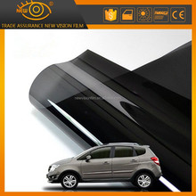 2 ply adhesive static cling window black window suntek solar front sun tint solar window film for car