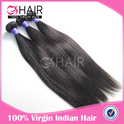 straight Grade 7A no tangle no shedding wholesale hair bundle india