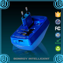 shenzhen Manufacture travel adapter stock lot with usb socket plug output 2.1A for travel
