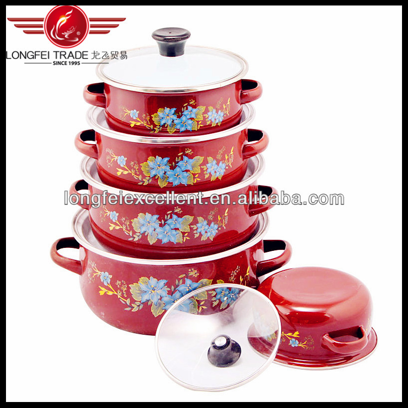 5pcs dark decals enamelware wholesale & enamel casserole & enameled wire