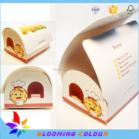 Professional custom made cheese cake box/factory sale custom cake boxes