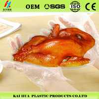 sanitation and hygiene roast chicken plastic disposable PE gloves