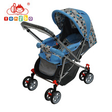 Wholesale Custom Steel-frame 3-position Recline Baby Buggy