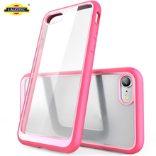 For iPhone 8 Case,Premium Hybrid PC Protective Clear TPU Bumper Case Cover For iPhone8,8 Plus