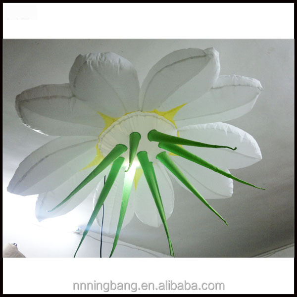 Ningbang 2016 hot sale diameter1.5m inflatable flower for wedding decoration