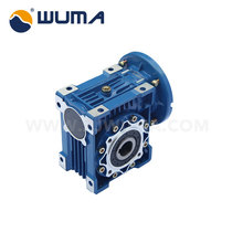 Customization acceptable single worm gear transmission motor reduction gearbox