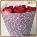 double side non woven flower packing paper sheet