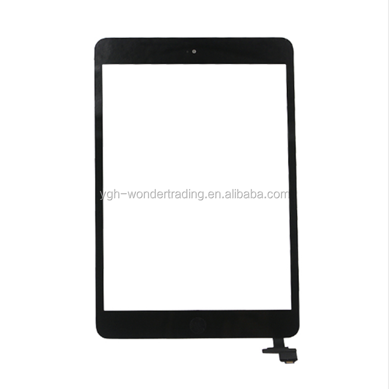 best selling hot chinese products for ipad mini 1 2 touch with IC chip home button and tape