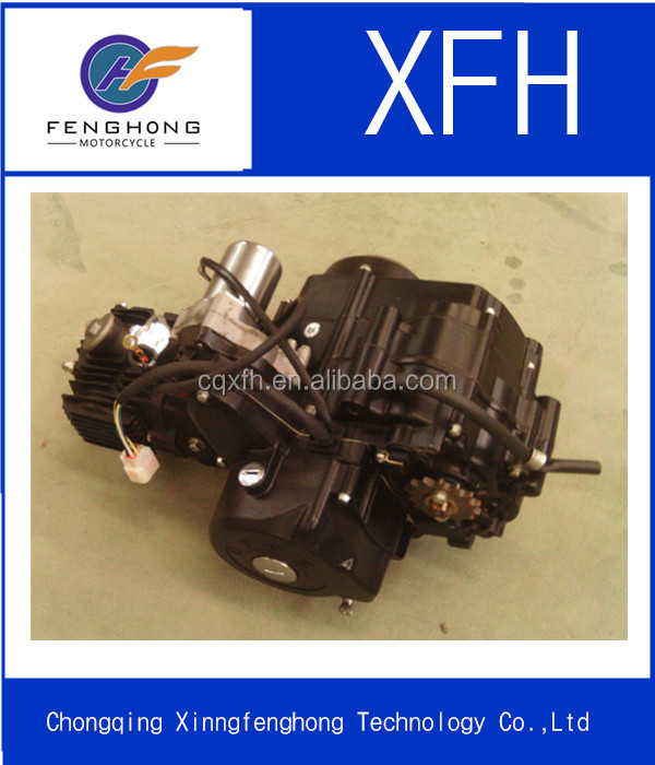 ATV's high quality dirt bike parts,Horizontal new 90cc dirt bike engine automatic clutch feet start 3+1 reverse
