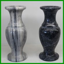 Factory price Exquiste stone vase with different color for home decoration or gifts