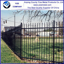 Quality Products Low carbon steel wire Wrought iron door gates (ISO 9001 )
