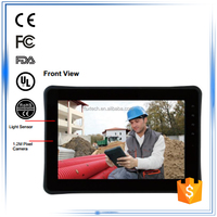 "10"" ARM-based NVIDIA 1.0GHz Dual Core waterproof dustproof ip65 3G android rugged tablet panel pc"