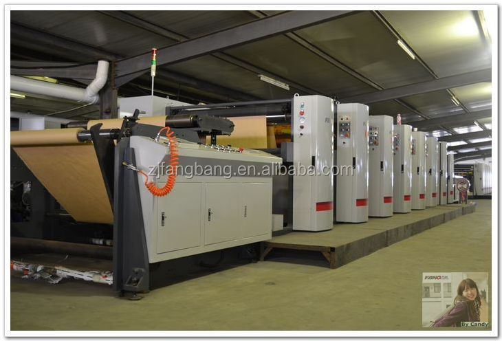 Printing and die cutting machine for paper cups