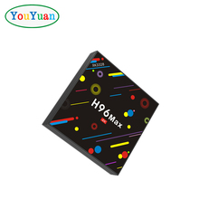 New arrival Free Shipping Android 7.1 tv box H96 MAX H2 RK3328 4GB 32GB Quad-Core 5G WIFI HD2.0 4k OEM LOGO SMART TV BOX