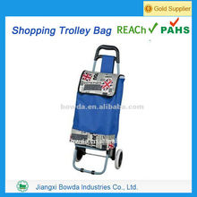2014 New design shopping trolley bag with seat