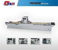 Straight knife grinder with precise linear guide rail and frequency converter