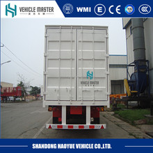 3 wheeler rear axle box semi trailer and truck in low price