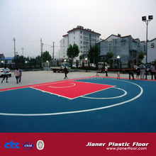 Assembly Mobile Basketball Flooring