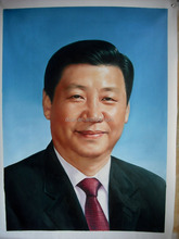 Chinese president portrait oil painting wholesale art
