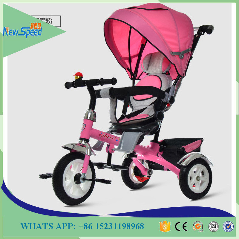 Toys Wholesale Baby Push BIke Tricycle Kids Umbrella Tricycle