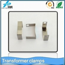 Trade Assurance Stainless Steel Clips For Transformer SUS301 Clips Transformer iron Clamps