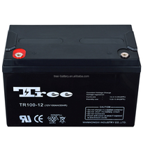 High quality 12 Years Life solar gel 24V 100ah 12V 100AH VRLA battery for store electricity