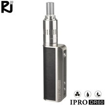 New products IPRO DR60 E Cigarette 3 in1 box mod CBD Vaporizer vape wax Dry Herb