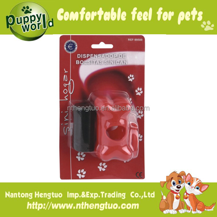 family use disposable pet poop bag dispenser