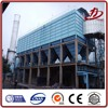 Industrial dust collection system used for debugged fume incineration of plastic