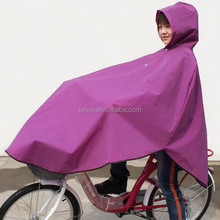 Reusable Pe Rain Poncho with logo printing for Advertising