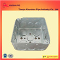 electronical metal conduit boxes for rigid steel wiring conduit square box