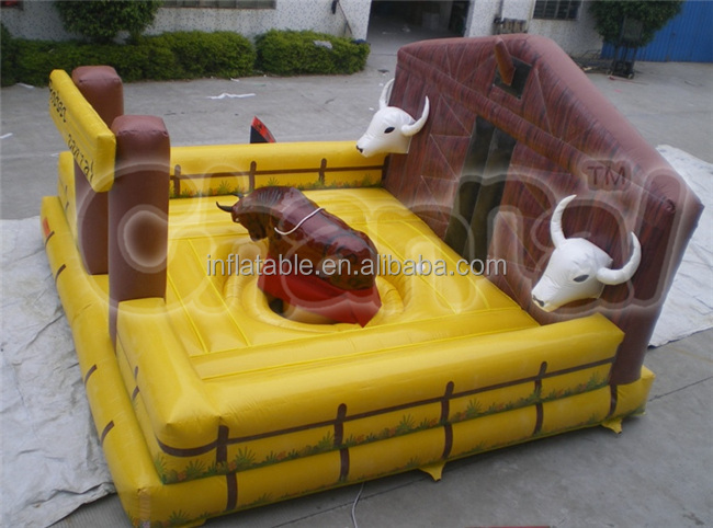 Inflatable farm bull Mechanical for sale